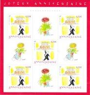 "2004  Bloc Neuf "" Joyeux Anniversaire"" - Sheetlets"