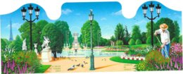 """2004  Bloc Neuf  Non Plié """" Salon Du Timbre  Jardins De France - Sheetlets"""