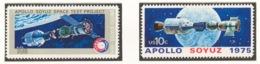 United States 1975 Mi# 1179-80** APOLLO SOYUZ PROJECT - Unused Stamps