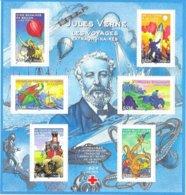 2005 - Bloc Neuf  Jules Verne - Sheetlets