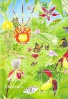 """2005 - Bloc Neuf  """" Orchidées"""" - Unclassified"""