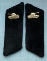 USSR / Buttonholes / Soviet Union. Emblems. Tank Forces 1970-80s - Buttons