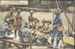 Militaria   AVEC LES FORCES DE L'AFRIQUE DU SUD EN ATTENDANT L'APPEL AU CAMP DE WANDERERS - War 1914-18