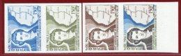 Mali 1979 #347, Color Proof X4, R. Caillie, Explorer & Map - Mali (1959-...)