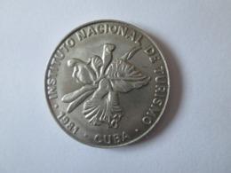 Cuba Token/jeton Intur 25 Centavos 1981 In Very Good Conditions - Fichas Y Medallas