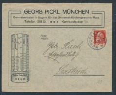 München Firmen  Beleg ....( Zu1889   ) Siehe Scan - Bayern
