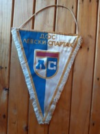 Vintage Pennant/Flagg- FK LEVSKI SPARTAK - Uniformes Recordatorios & Misc