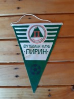 Vintage Pennant/Flagg- FUTBOLEN KLUB PIRIN - Uniformes Recordatorios & Misc