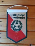 Vintage Pennant/Flagg- NK RUDAR VELENJE - Abbigliamento, Souvenirs & Varie