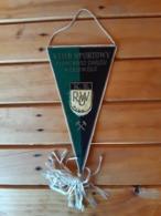 Vintage Pennant/Flagg- K.S. ROW - Uniformes Recordatorios & Misc