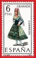 España. Spain. 1968. Granada. Trajes Regionales Regional Costumes - 1961-70 Nuevos & Fijasellos