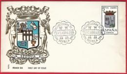 España. Spain. 1968. Matasello Conmemorativo. Commemorative Postmarks. Feria Iberoamericana. Sevilla - Marcofilia - EMA ( Maquina De Huellas A Franquear)