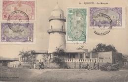 Äthiopien: 1912: Ansichtskarte Djibouti La Mosquée Nach Zürich - Ethiopie