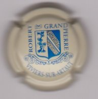 Capsule Champagne ROBERT_GRANDPIERRE ( 2 ; Fond Crème ) 5€ {S43-19} - Unclassified