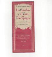 CHAMPAGNE POMMERY & GRENO LIVRET LOS VINEDOS Y EL VINO DE CHAMPAGNE  PAR GEORGES CHAPPAZ  ****  A SAISIR ***** - Autres