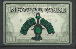 Germany,Green Goose, Member Card. - Gift Cards