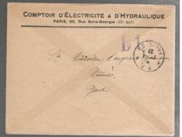 23735 -  * P.P. * PARIS 22 - Postmark Collection (Covers)