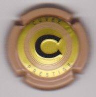 Capsule Champagne CHRISTOPHE ( 15f ; Brut Prestige , Contour Brun Clair ) {S43-19} - Unclassified