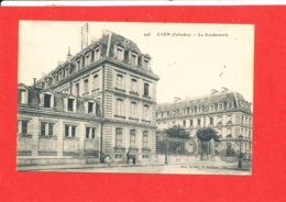 14 CAEN Cpa Petite Animation La Gendarmerie       948 Edit Maillant - Caen