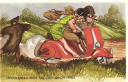 Illustrateur VESPA  L' EPOUVANTAIL N'EST PAS CELUI QU'ON PENSE  RV - Humour