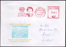 Czech Republic - 1999 - Winter Olympic Games 1998 - Cover - Inverno1998: Nagano