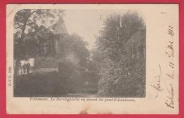 Tienen / Tirlemont - Le Borchgracht En Amont Du Pont D'Aendoren  -1902  ( Verso Zien ) - Tienen