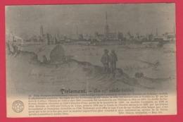 Tienen In 1660 - Historisch In Frans ( Verso Zien ) - Tienen