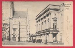 Tienen / Tirlemont - Hôtel De Ville - 1904 ( Verso Zien ) - Tienen