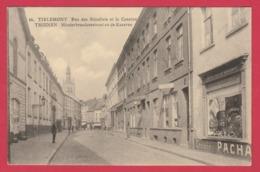 Tienen / Tirlemont - Minderbroedersstraat En De Kazerne ( Verso Zien ) - Tienen