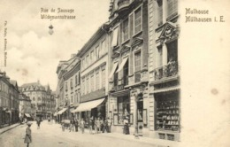 R Mulhouse Rue De Sauvage Commerces  RV - Mulhouse