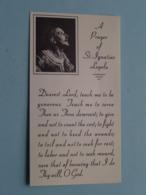 A PRAYER Of St. Ignatius LOYOLA ( A.M.D.G. Mission > Jesuit Mission Band California > See Photo ) ! - Religion & Esotérisme
