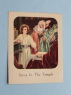 The BOY JESUS In The TEMPLE ( Luke 2: 41-51 > See Photo ) N° 551 - C.R.G.CO ! - Religion & Esotérisme