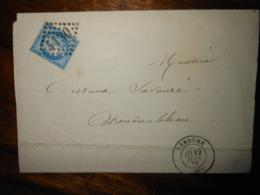 Lettre GC 4130 Vendome Loir Et Cher - 1849-1876: Klassieke Periode