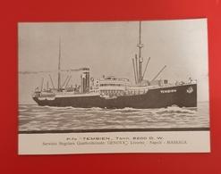 Cartolina P.fo - TEMBIEN - Tonn. 8200 D.W. - 1940 - Cartes Postales