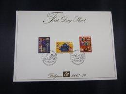 BELG.2003 3218/20 - FDS - Het Boek  / Le Livre - FDC
