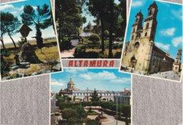 BARI - Altamura - 4 Vedute - La Cattedrale  - Piazza Zanardelli - Crocifisso Di S.Elia - Villa Mercadante - 1974 - Altamura
