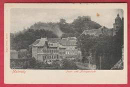 Malmedy - Post-und Abteigebäude  ( Voir Verso ) - Malmedy