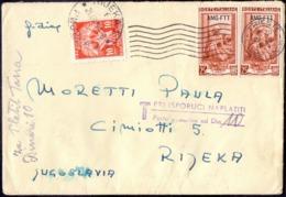 ITALIA - TRIESTE  AMG FTT + YUGOSLAV PORTO - 1954 - Trieste