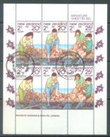 NEW ZEALAND - USED/OBLIT. - 1981 - HEALTH - Yv Bloc 46 Mi 828-830 SG MS1252 Sc B111a  - Lot 20574 - Blocs-feuillets