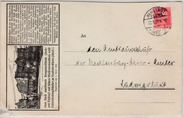 DR - Neustadt-Glewe 1928, Illustr. Werbeumschlag N. Ludwugslust, Ohne Inhalt - Germany