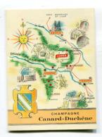 Calendrier 1959  Canard Duchêne à Ludes  Format : 81*111 Mm  A    VOIR  !!! - Small : 1941-60