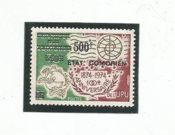 129  Timbre Surchargé   Luxe Sans Charniére      (clascame23) - Comores (1975-...)