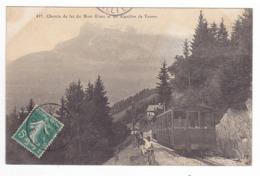 74 Vers St Gervais ? Chemin De Fer Du Mont Blanc N477 Aiguilles De Varens VOIRZOOM Train Cheminots Cheminotes Au Travail - Saint-Gervais-les-Bains