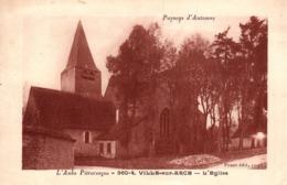 Thematiques 10 Aube Ville Sur Arce L'Eglise Paysage D'Automne - Andere Gemeenten