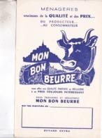BUVARD MON BON BEURRE - Produits Laitiers