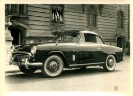 GRANDE PHOTO SIMCA COUPEE FORMAT 18 X 13 CM - Automobiles
