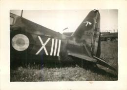 AVION MORANE SAULNIER MS 406 ESCADRILLE DES CIGOGNES  FORMAT 9 X 6.50 CM - Aviation
