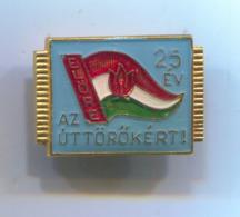 SCOUTING, SCOUTISME, BOY SCOUT - Association Hungary, Vintage Pin, Badge, Abzeichen,enamel - Associations