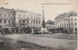 ARAD - Andrassy - Ter és Szent Haromsag - Szobor - Roumanie