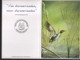 BUZIN / DOUBLE CARTE BLANCO / NATUURHULPCENTRUM - 1985-.. Pájaros (Buzin)